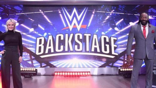 Renee Young and Booker T are going to be joined by a very familiar face
