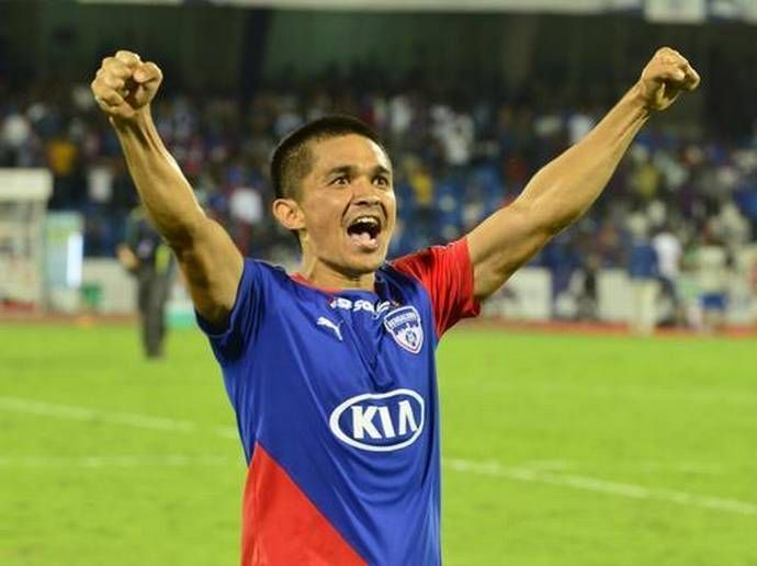 Chhetri is pushing to introduce a reserve division in a bid to improve India's production line of young talent.