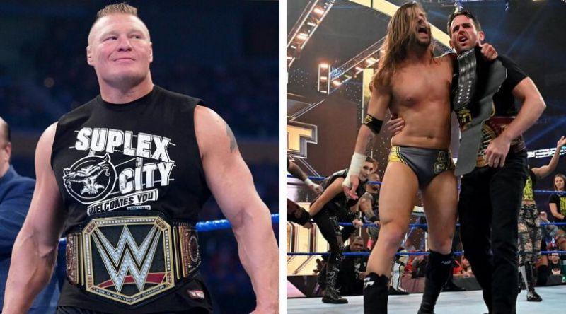 ब्रॉक लेसनर और NXT