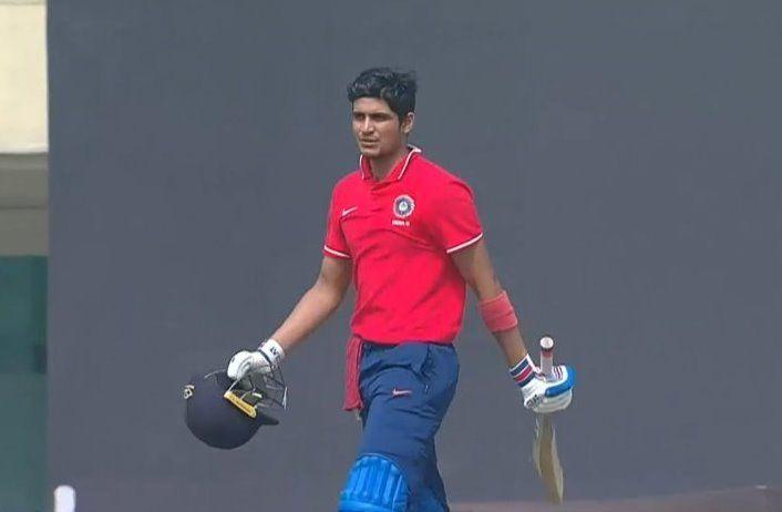 शुभमन गिल ने 143 रनों की पारी खेली