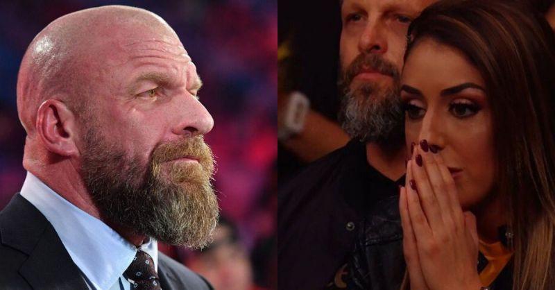 Triple H and Britt Baker