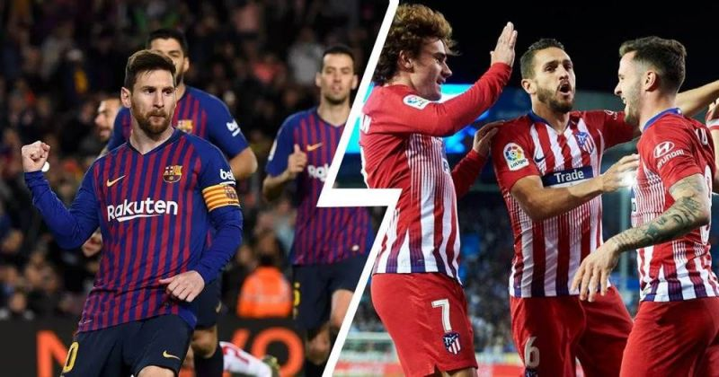 Barcelona vs Atletico Madrid is one of the most played La Liga fixtures