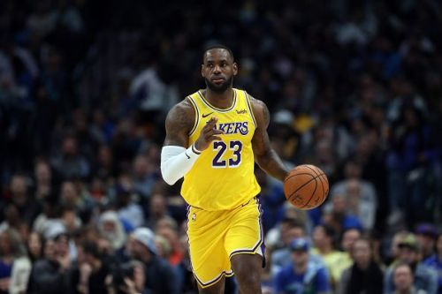 LeBron James and the Lakers will be looking for a sixth straight win