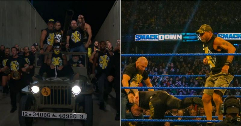DX ran riot after SmackDown (Image Courtesy: WWE and Twitter user Kim )