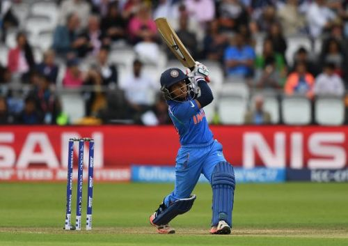 Punam Raut was picked as the player of the match for her 77 runs