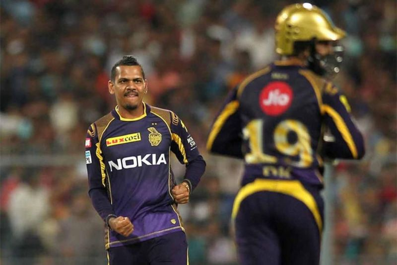 Sunil Narine has been with the KKR team for a long time now