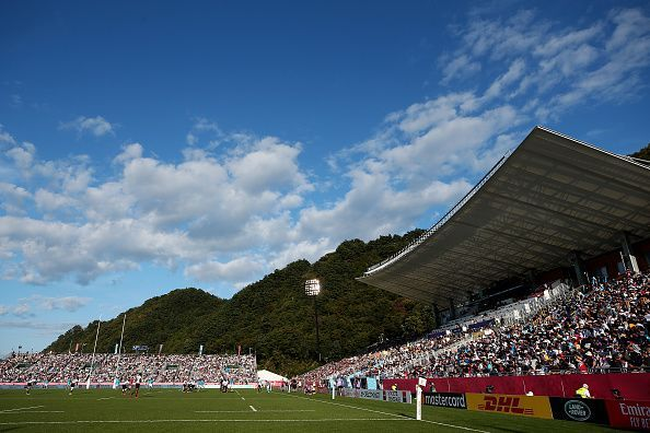 Fiji v Uruguay - Rugby World Cup 2019: Group D at Kamaishi Recovery Memorial Stadium