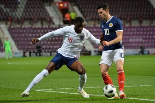 Tomori switched international allegiances from Canada to England in 2016