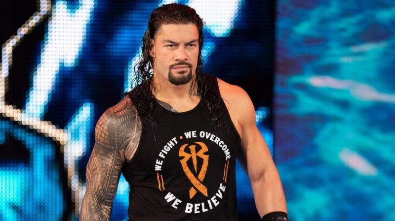 Roman Reigns faced Baron Corbin