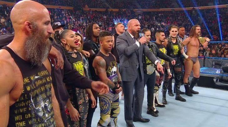 रॉ और स्मैकडाउन के साथ NXT ब्रांड भी सर्वाइवर सीरीज का हिस्सा हैं