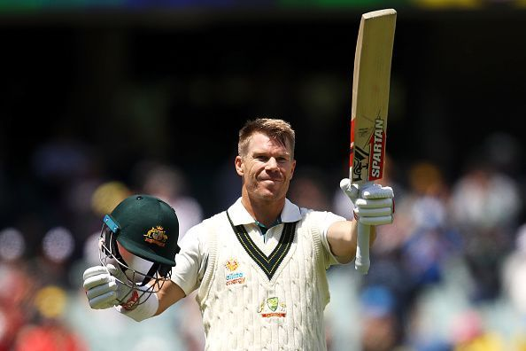 David Warner registered his first triple century against Pakistan
