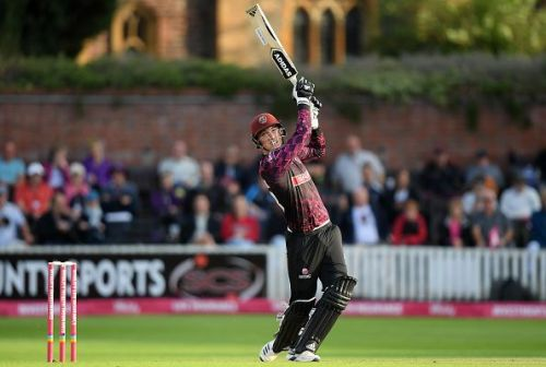 Tom Banton made a name for himself while playing for Somerset in the T20 Blast