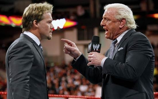 Chris Jericho and Ric Flair will be coming face-to-face on his cruise