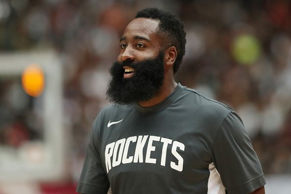 Harden is averaging 37.3 points per game this season