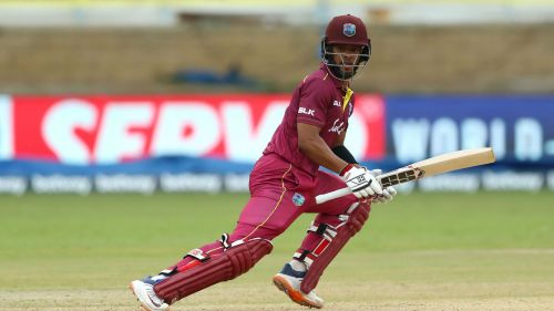 Shai Hope starred in West Indies' win over Afghanistan