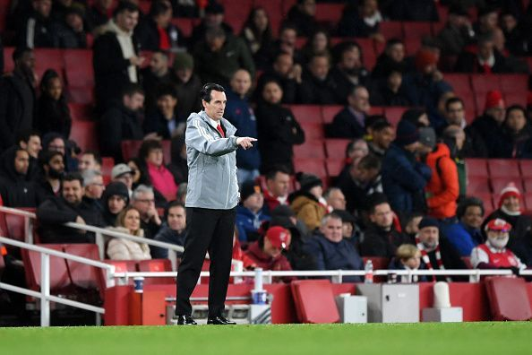 A loss in this game could very well mean the end of Unai Emery at Arsenal
