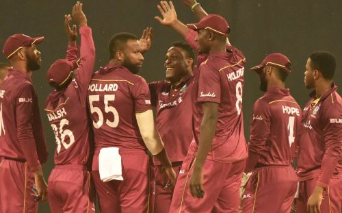 वेस्टइंडीज ने सीरीज में अजेय बढ़त हासिल की (Photo: Afghanistan Cricket Twitter)