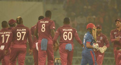 वेस्टइंडीज की एकतरफा जीत (Photo: Afghanistan Cricket Twitter)