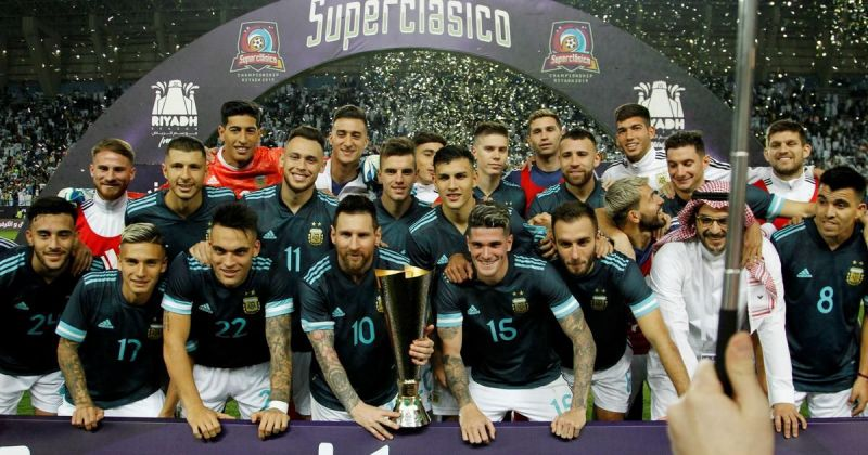 Argentina defeated Brazil in their last friendly