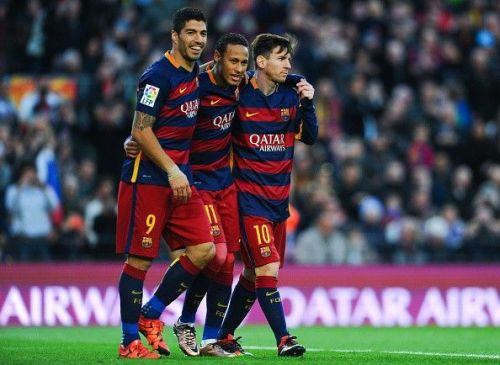 Messi, Suarez and Neymar were probably the greatest triumvirate in Barcelona's history.