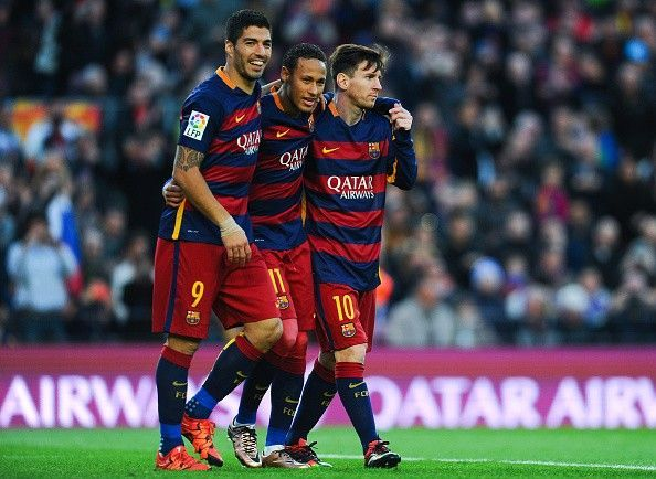 Messi, Suarez and Neymar were probably the greatest triumvirate in Barcelona