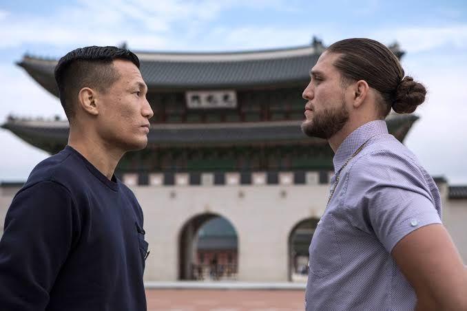 UFC ends its calendar year at Busan, South Korea