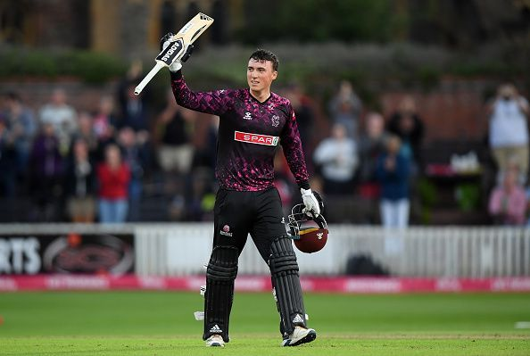 Banton had a brilliant t20 Blast playing for Somerset