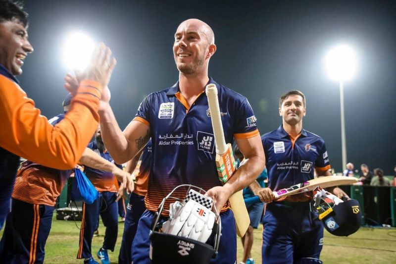 Chris Lynn shone the brightest in T10 League 2019