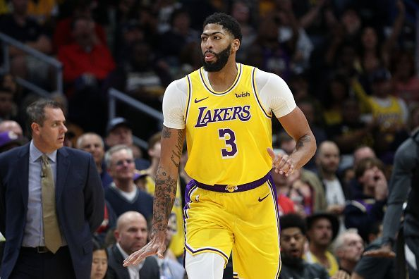 Anthony Davis has transformed the Los Angeles Lakers into contenders
