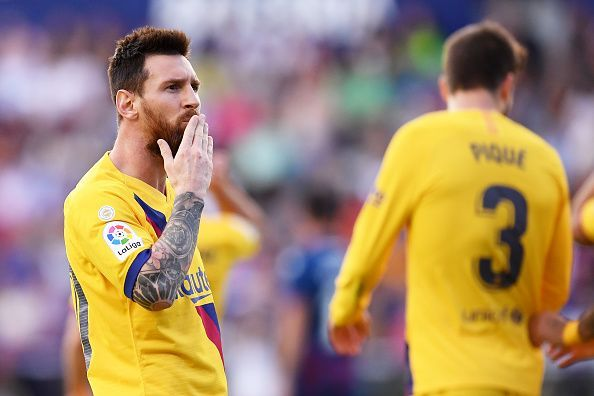 Lionel Messi is equally prolific as a playmaker