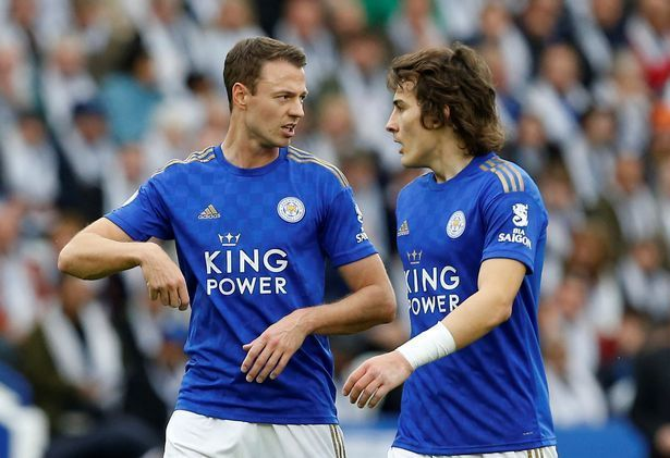 Soyuncu and Evans have conceded just eight goals since the start of the league