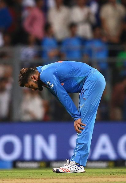 Virat Kohli after India's loss to West Indies in World T20 2016