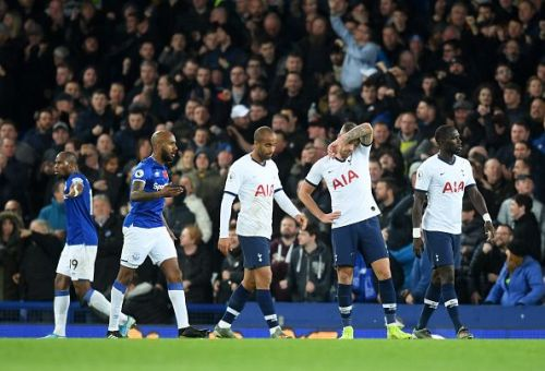 Everton and Tottenham played out a disappointing draw this afternoon