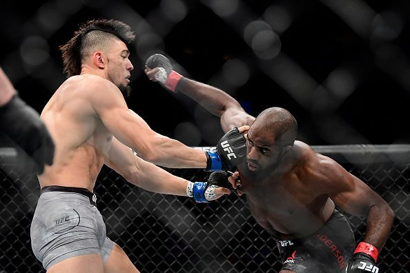 Anderson knocked out Walker at UFC 244