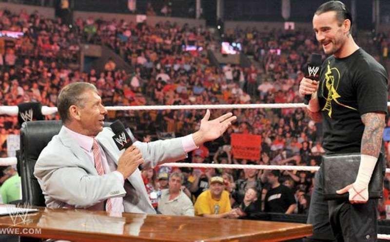 Punk and McMahon