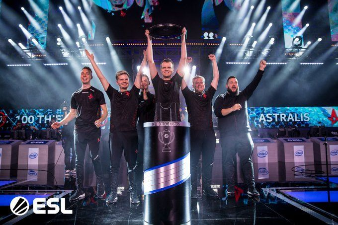 Astralis beat the 100 Thieves 3-0 in the grand finals and will take home $125,000.