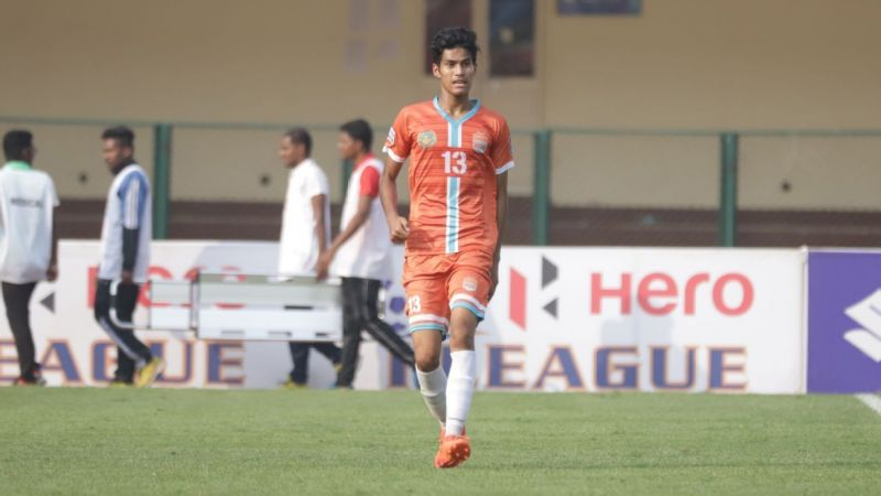 Gaurav Bora won the I-League 2018-19 trophy with Chennai City FC and scored a brace in their final week fixture