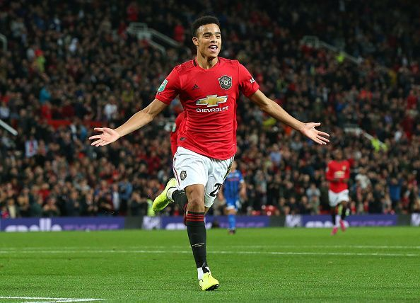 Mason Greenwood will be looking to power United to the next round