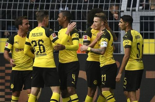 Dortmund's win at Union Berlin is their lone away win of the season