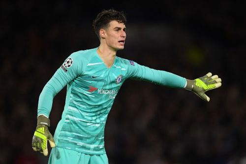 Kepa in action for Chelsea