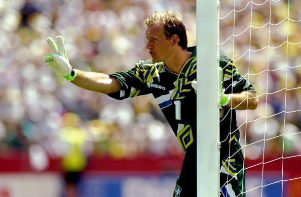 Brazil goalkeeper Claudio Taffarel