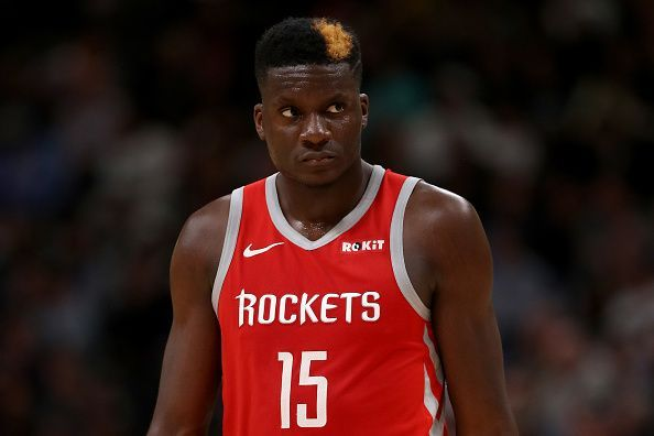 Clint Capela is among the names being linked with a trade to the Boston Celtics