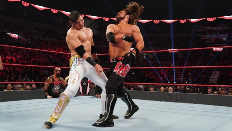 Humberto Carrillo and AJ Styles
