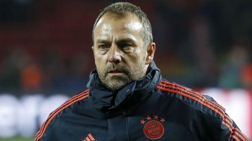 Bayern Munich interim head coach Hans-Dieter Flick