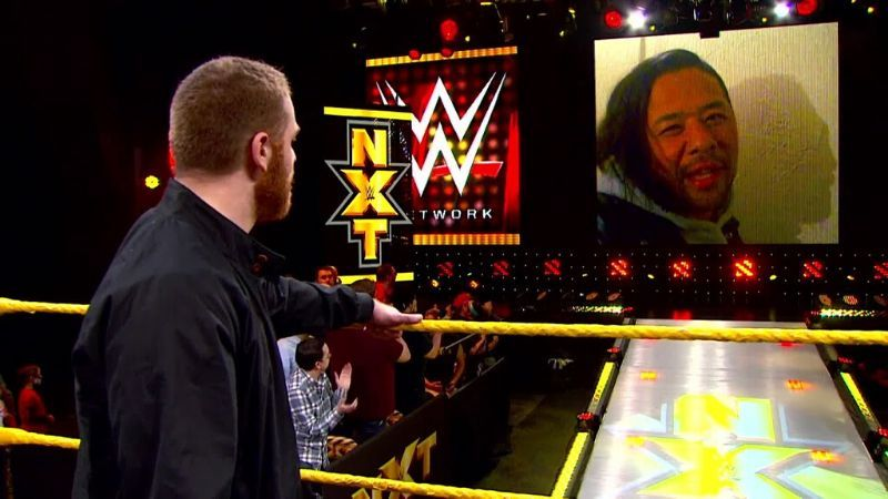 Sami Zayn and Shinsuke Nakamura are former NXT Champions