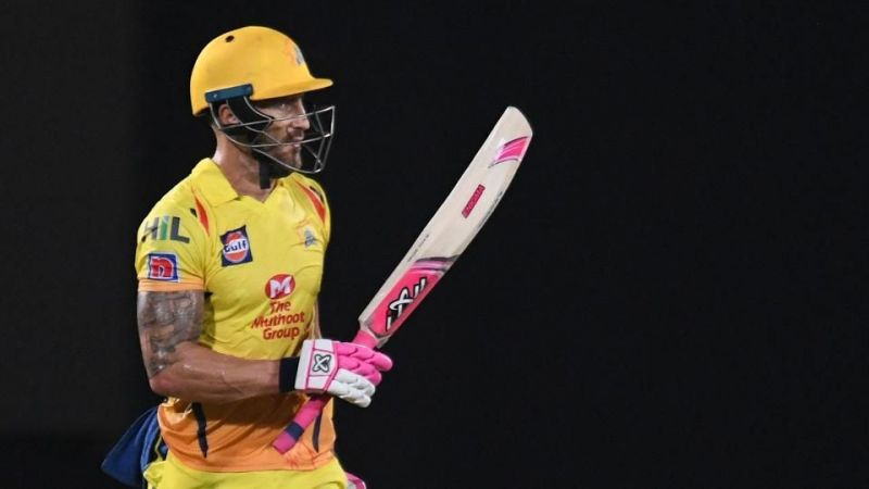 Du Plessis has scored 1639 runs at an average of 31.51