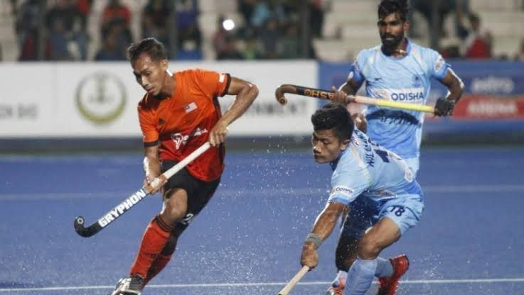 The Indians beat Malaysia at Ipoh
