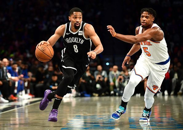 Dinwiddie one of only two players who scored double digits in their loss against the Knicks.