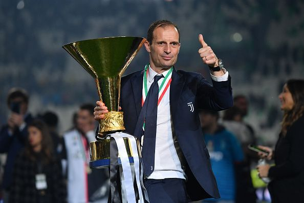 Massimiliano Allegri at Juventus
