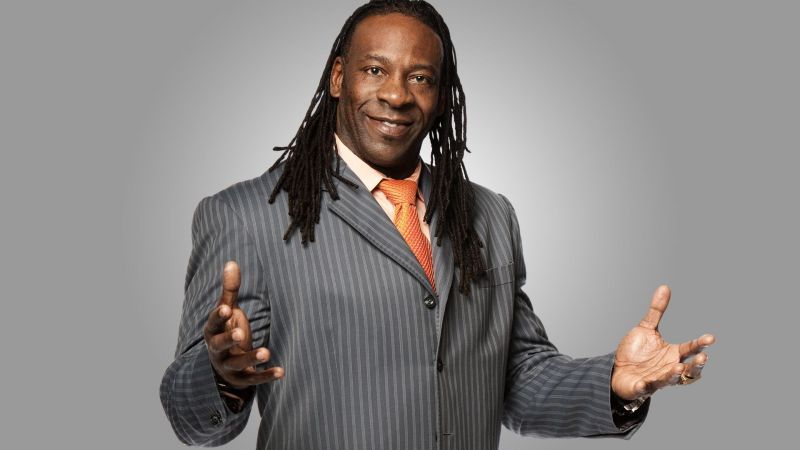 Booker T has always had impeccable fashion sense. Can you dig that, sucka?